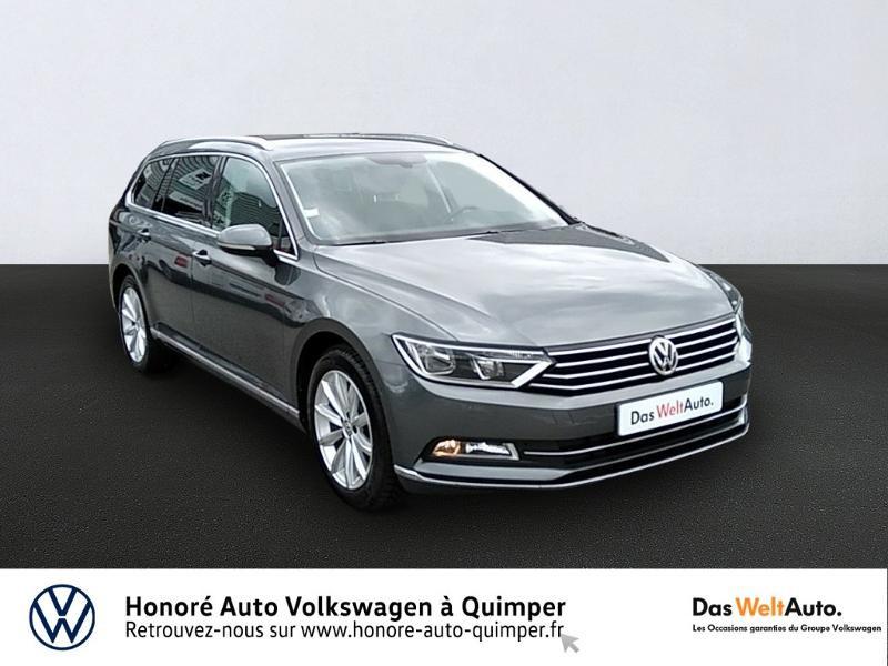 Volkswagen Passat SW 1.6 TDI 120ch BlueMotion Technology Carat Diesel gris métal Occasion à vendre