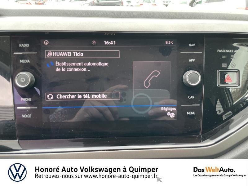 Photo 18 de l'offre de VOLKSWAGEN Polo 1.6 TDI 80ch Confortline Business Euro6d-T à 15480€ chez Honore Auto - Volkswagen Quimper