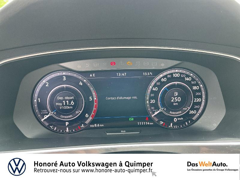 Photo 13 de l'offre de VOLKSWAGEN Tiguan 2.0 TDI 190ch Carat Exclusive 4Motion DSG7 à 27490€ chez Honore Auto - Volkswagen Quimper