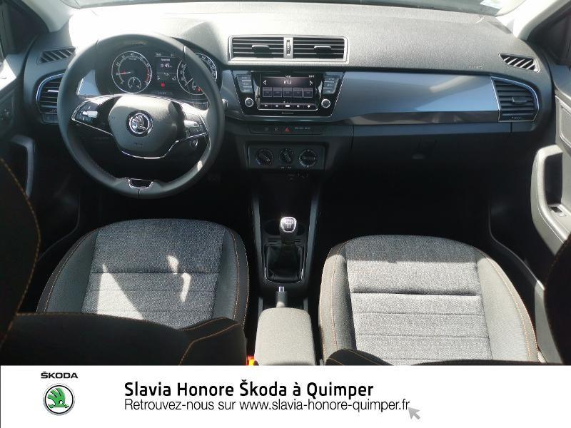 Photo 9 de l'offre de SKODA Fabia 1.0 TSI 95ch Clever Euro6d-T à 14490€ chez Honore Auto - Volkswagen Quimper