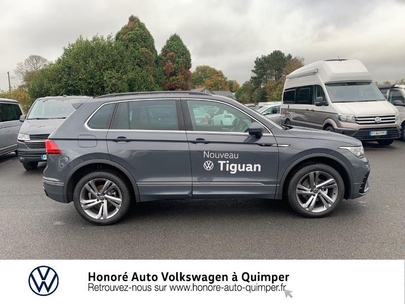 Photo 20 de l'offre de VOLKSWAGEN Tiguan 2.0 TDI 150ch R-Line 4Motion DSG7 à 39900€ chez Honore Auto - Volkswagen Quimper