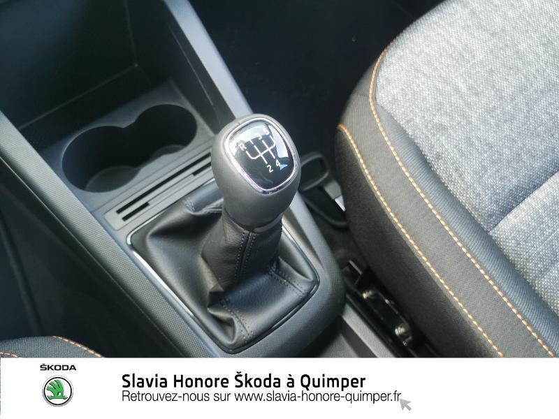 Photo 19 de l'offre de SKODA Fabia 1.0 TSI 95ch Clever Euro6d-T à 14490€ chez Honore Auto - Volkswagen Quimper