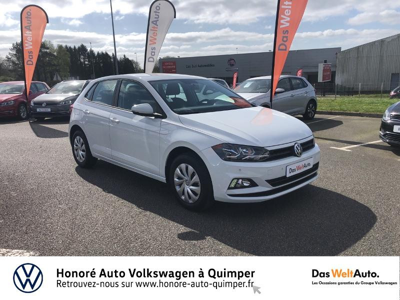 Photo 19 de l'offre de VOLKSWAGEN Polo 1.0 MPI 65ch Trendline Euro6d-T à 12490€ chez Honore Auto - Volkswagen Quimper