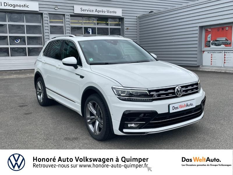 Photo 22 de l'offre de VOLKSWAGEN Tiguan 2.0 TDI 190ch Carat Exclusive 4Motion DSG7 à 27490€ chez Honore Auto - Volkswagen Quimper
