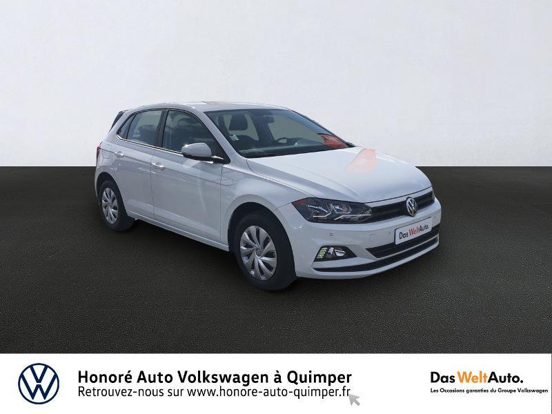 Photo 1 de l'offre de VOLKSWAGEN Polo 1.0 MPI 65ch Trendline Euro6d-T à 12490€ chez Honore Auto - Volkswagen Quimper