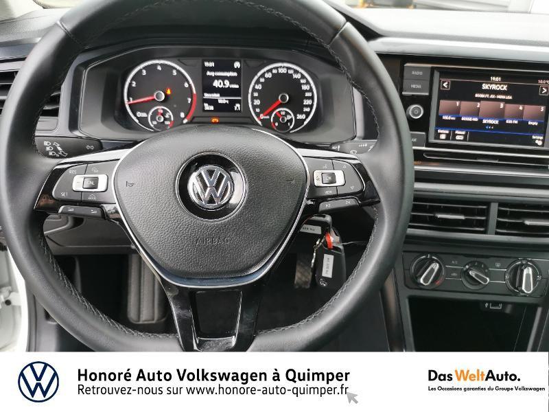 Photo 10 de l'offre de VOLKSWAGEN Polo 1.0 MPI 65ch Trendline Euro6d-T à 12490€ chez Honore Auto - Volkswagen Quimper