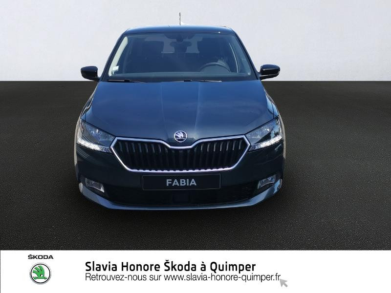 Photo 2 de l'offre de SKODA Fabia 1.0 TSI 95ch Clever Euro6d-T à 14490€ chez Honore Auto - Volkswagen Quimper