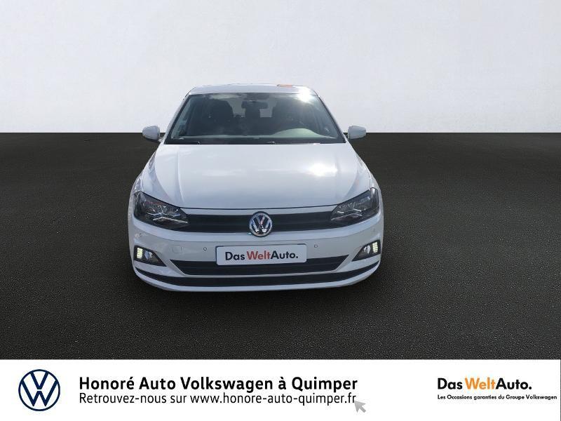Photo 2 de l'offre de VOLKSWAGEN Polo 1.0 MPI 65ch Trendline Euro6d-T à 12490€ chez Honore Auto - Volkswagen Quimper