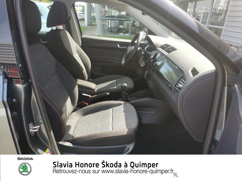 Photo 8 de l'offre de SKODA Fabia 1.0 TSI 95ch Clever Euro6d-T à 14490€ chez Honore Auto - Volkswagen Quimper