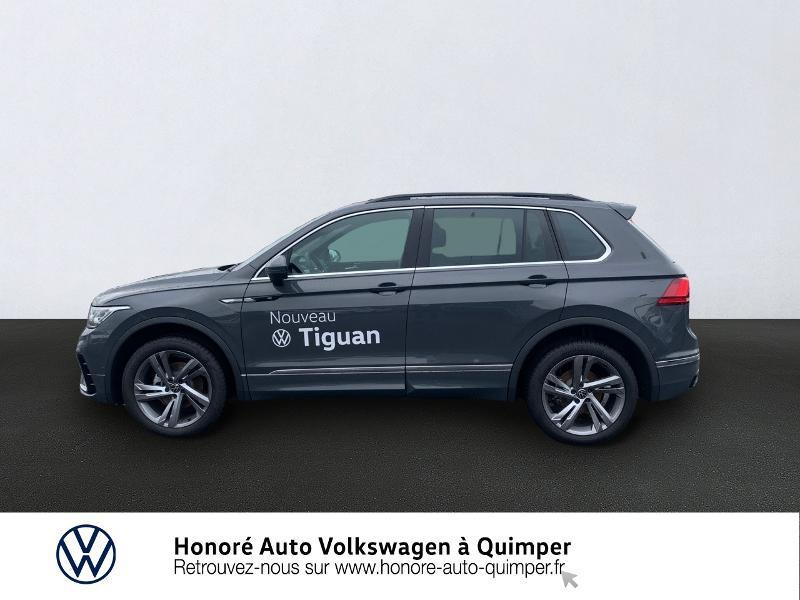 Photo 2 de l'offre de VOLKSWAGEN Tiguan 2.0 TDI 150ch R-Line 4Motion DSG7 à 39900€ chez Honore Auto - Volkswagen Quimper