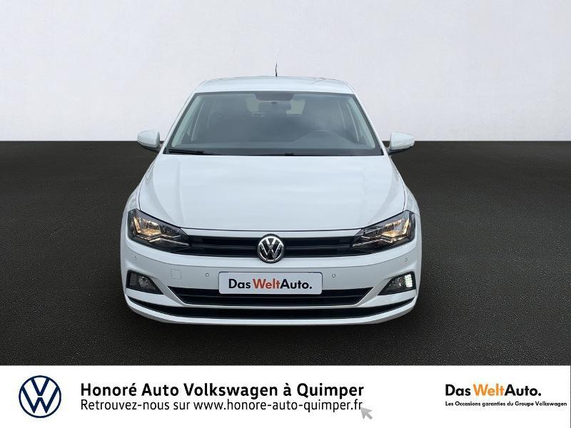 Photo 5 de l'offre de VOLKSWAGEN Polo 1.0 MPI 65ch Trendline Euro6d-T à 13490€ chez Honore Auto - Volkswagen Quimper