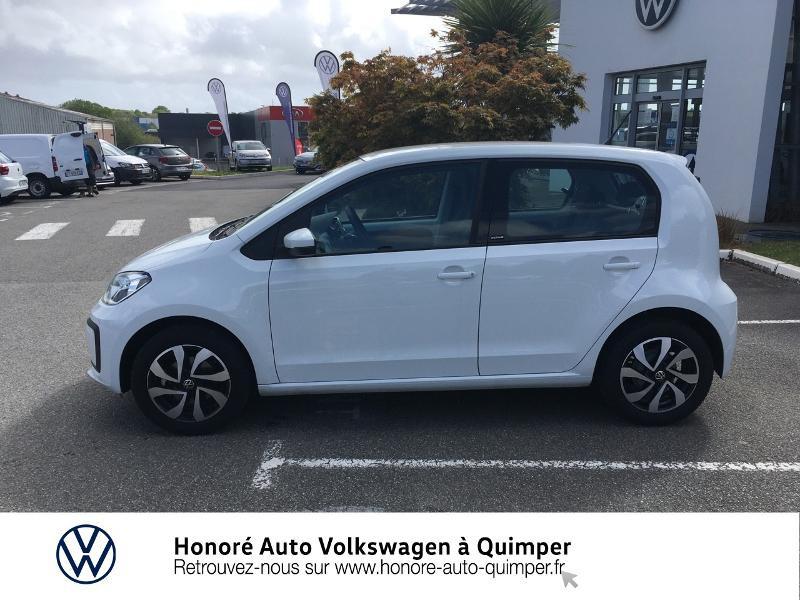 Photo 20 de l'offre de VOLKSWAGEN up! 1.0 65ch BlueMotion Technology Active 5p à 13600€ chez Honore Auto - Volkswagen Quimper