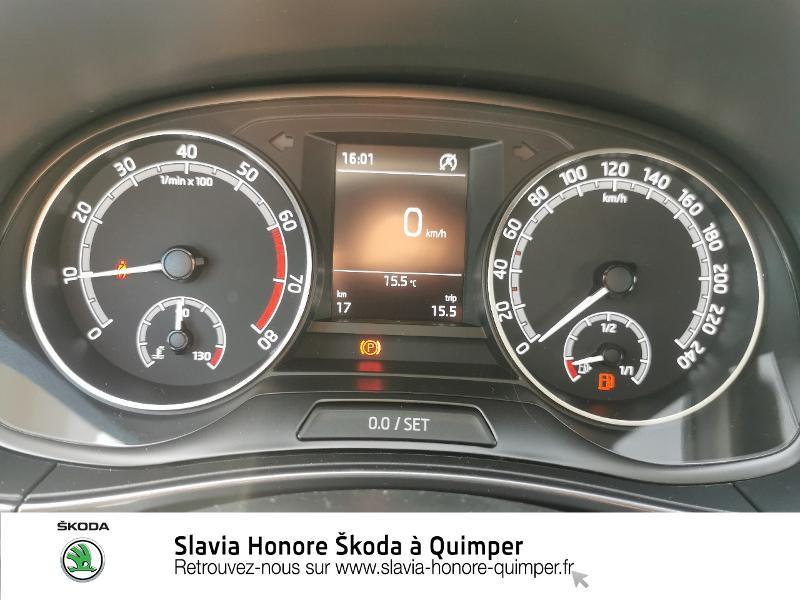 Photo 11 de l'offre de SKODA Fabia 1.0 TSI 95ch Clever Euro6d-T à 14490€ chez Honore Auto - Volkswagen Quimper