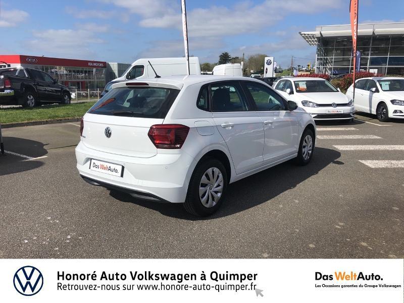 Photo 21 de l'offre de VOLKSWAGEN Polo 1.0 MPI 65ch Trendline Euro6d-T à 12490€ chez Honore Auto - Volkswagen Quimper