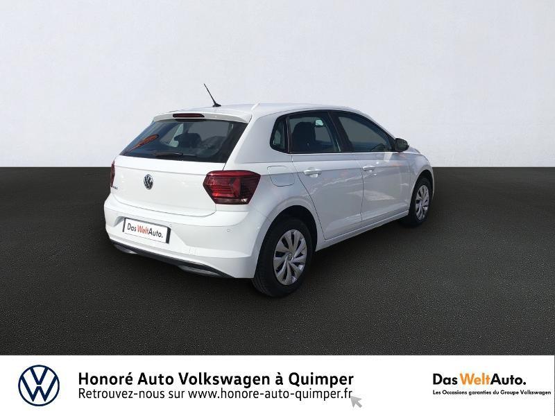 Photo 4 de l'offre de VOLKSWAGEN Polo 1.0 MPI 65ch Trendline Euro6d-T à 12490€ chez Honore Auto - Volkswagen Quimper