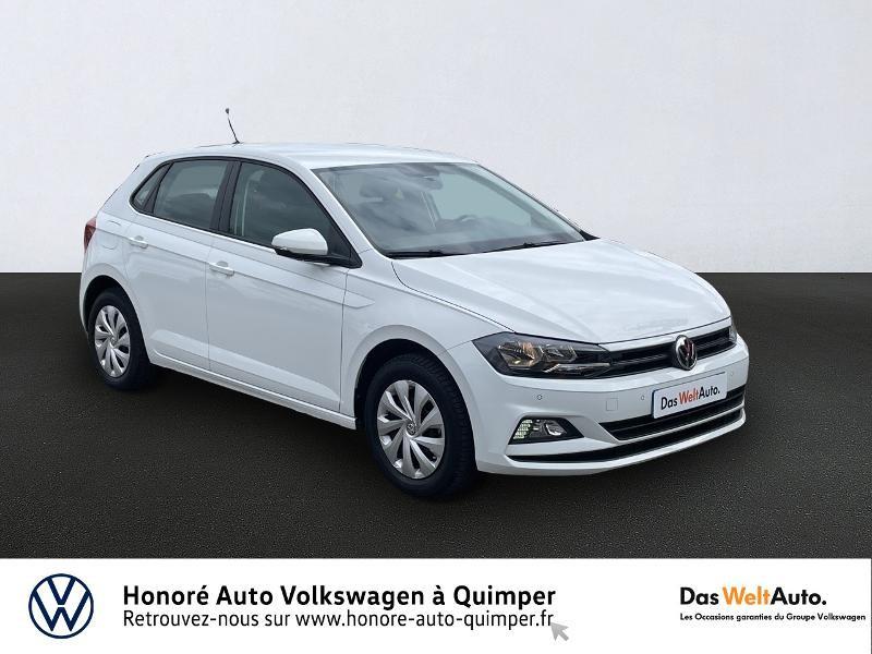 Photo 1 de l'offre de VOLKSWAGEN Polo 1.0 MPI 65ch Trendline Euro6d-T à 13490€ chez Honore Auto - Volkswagen Quimper