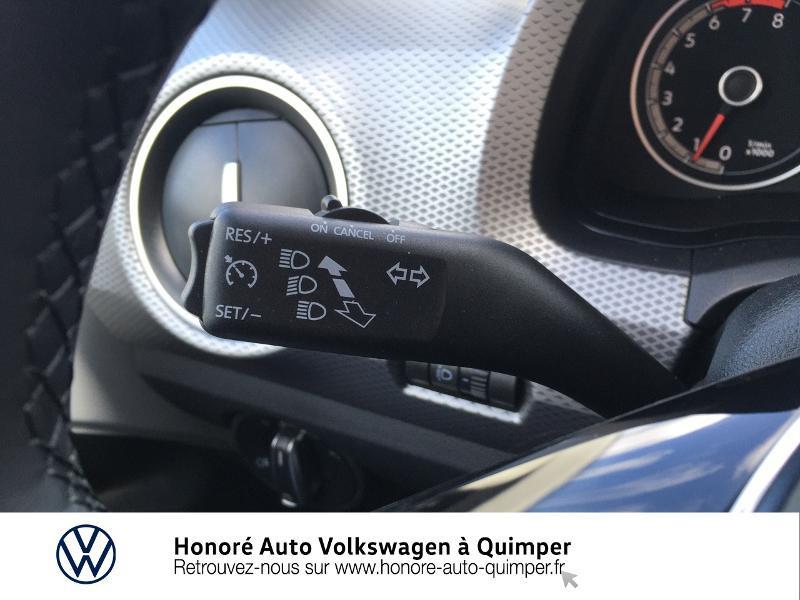 Photo 13 de l'offre de VOLKSWAGEN up! 1.0 65ch BlueMotion Technology Active 5p à 13600€ chez Honore Auto - Volkswagen Quimper