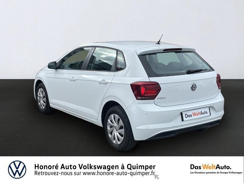 Photo 3 de l'offre de VOLKSWAGEN Polo 1.0 MPI 65ch Trendline Euro6d-T à 13490€ chez Honore Auto - Volkswagen Quimper