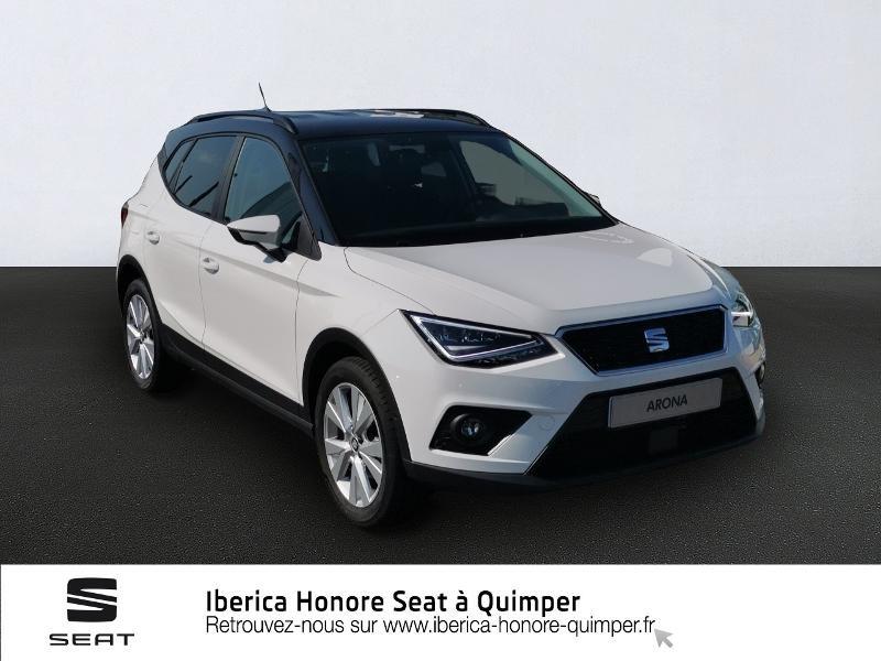 Photo 1 de l'offre de SEAT Arona 1.0 EcoTSI 95ch Start/Stop Urban Euro6d-T à 17790€ chez Honore Auto - Volkswagen Quimper