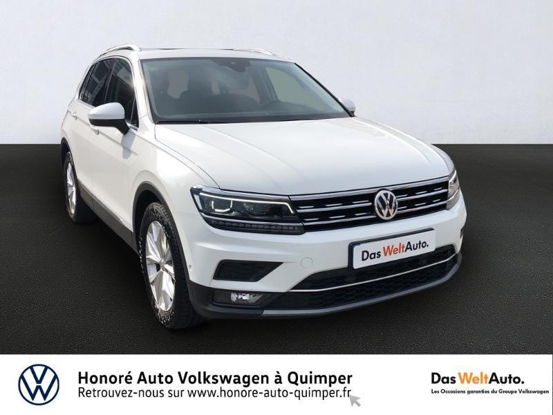 Volkswagen Tiguan 2.0 TDI 150ch Carat Diesel Blanc Occasion à vendre