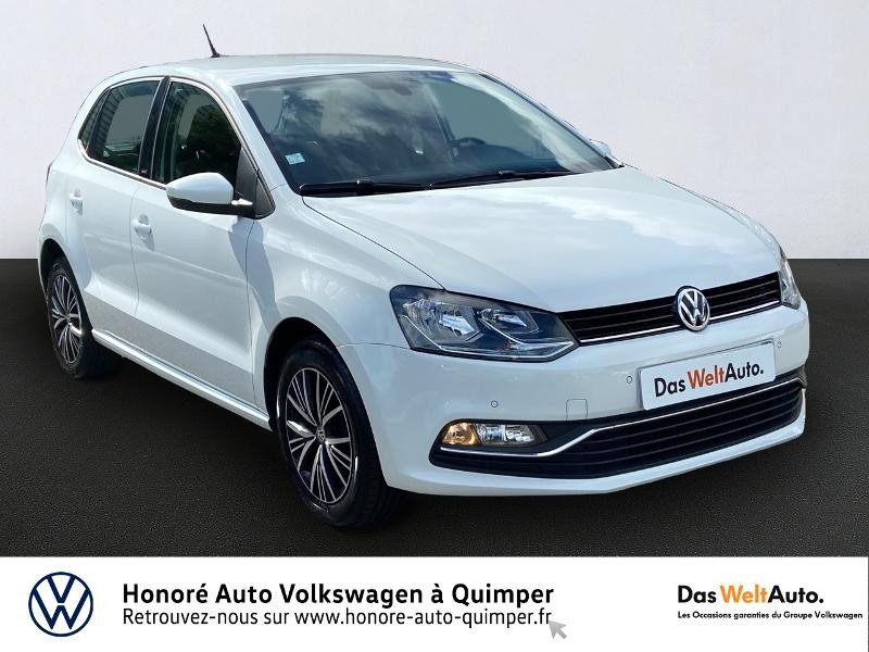 Volkswagen Polo 1.2 TSI 90ch BlueMotion Technology Allstar 5p Essence BLANC Occasion à vendre