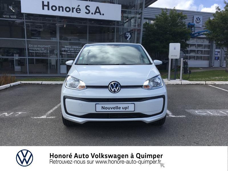 Photo 19 de l'offre de VOLKSWAGEN up! 1.0 65ch BlueMotion Technology Active 5p à 13600€ chez Honore Auto - Volkswagen Quimper