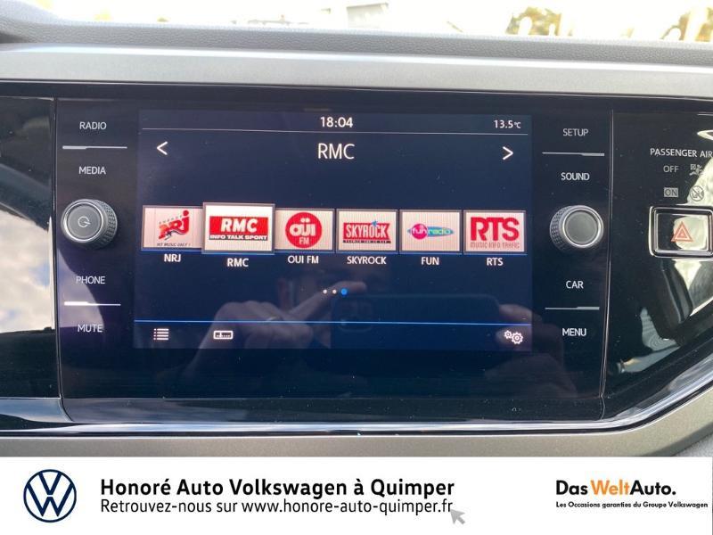 Photo 10 de l'offre de VOLKSWAGEN Polo 1.0 MPI 65ch Confortline Euro6d-T à 12490€ chez Honore Auto - Volkswagen Quimper