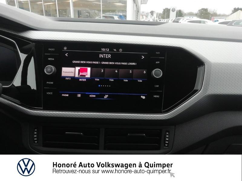 Photo 8 de l'offre de VOLKSWAGEN T-Cross 1.0 TSI 110ch Active DSG7 à 24400€ chez Honore Auto - Volkswagen Quimper