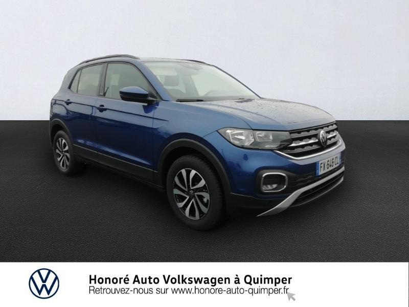 Photo 1 de l'offre de VOLKSWAGEN T-Cross 1.0 TSI 110ch Active DSG7 à 24400€ chez Honore Auto - Volkswagen Quimper