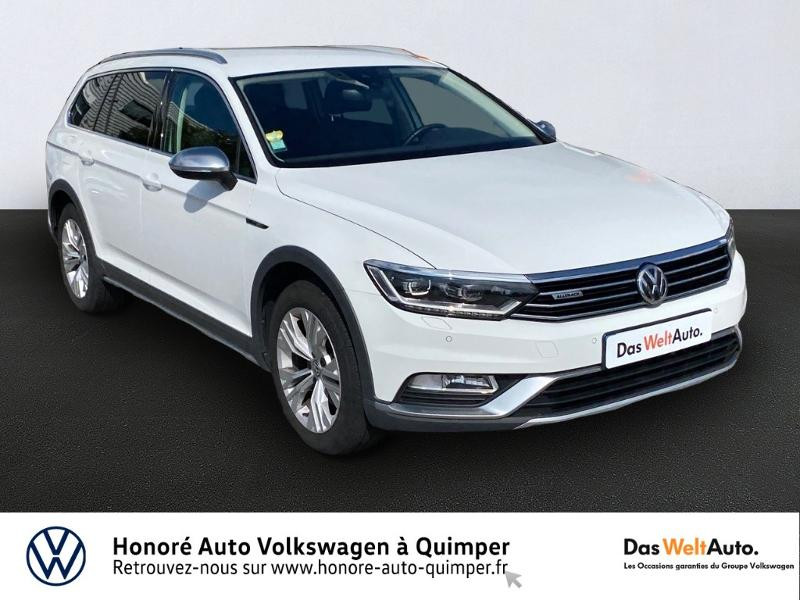 Volkswagen Passat Alltrack 2.0 TDI 190ch BlueMotion Technology 4Motion DSG7 Diesel BLANC Occasion à vendre