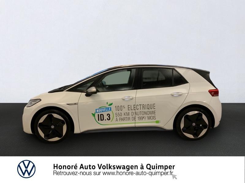 Photo 2 de l'offre de VOLKSWAGEN ID.3 204ch 1st MAX à 33800€ chez Honore Auto - Volkswagen Quimper