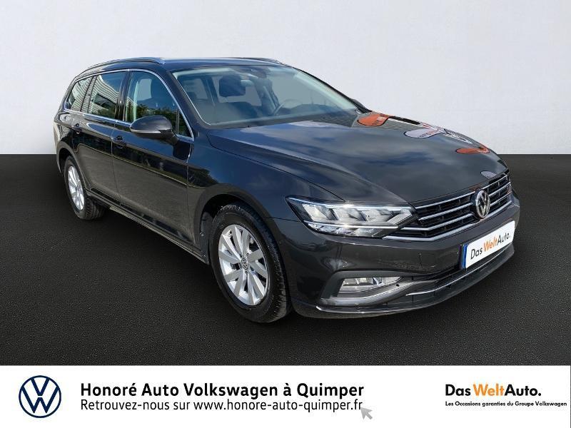 Volkswagen Passat SW 2.0 TDI EVO 150ch Business DSG7 8cv Diesel gris manganese Occasion à vendre