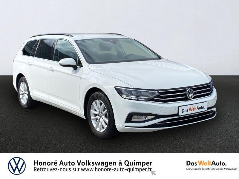 Volkswagen Passat SW 2.0 TDI EVO 150ch Business DSG7 8cv Diesel Blanc Occasion à vendre