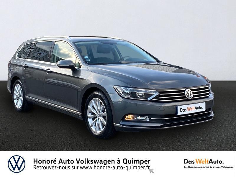Volkswagen Passat SW 2.0 TDI 150ch BlueMotion Technology Carat Diesel GRIS F Occasion à vendre