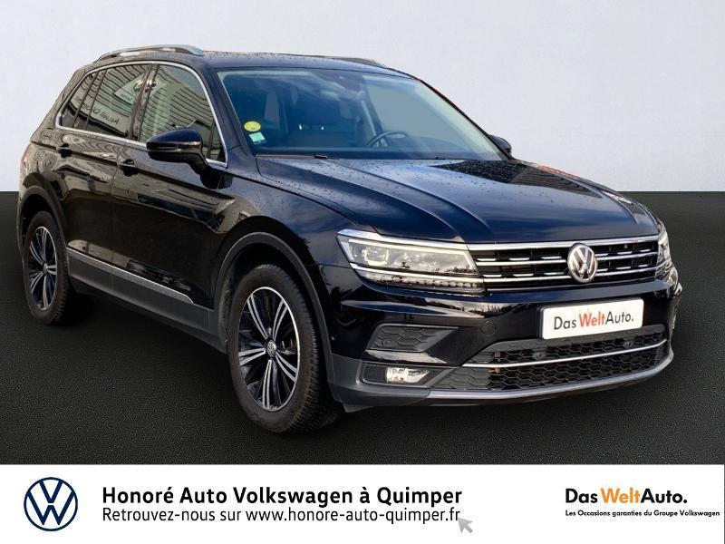 Volkswagen Tiguan 2.0 TDI 150ch Carat DSG7 Diesel NOIR Occasion à vendre