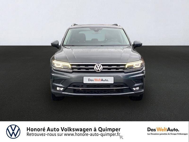Volkswagen Tiguan 2.0 TDI 150ch Carat DSG7 Diesel GRIS INDIUM Occasion à vendre