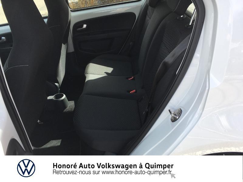 Photo 8 de l'offre de VOLKSWAGEN up! 1.0 65ch BlueMotion Technology Active 5p à 13600€ chez Honore Auto - Volkswagen Quimper