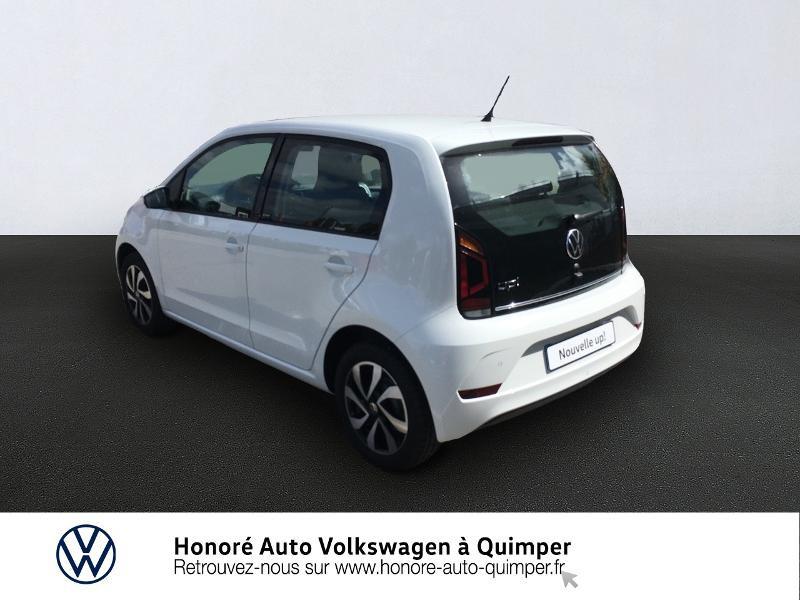 Photo 4 de l'offre de VOLKSWAGEN up! 1.0 65ch BlueMotion Technology Active 5p à 13600€ chez Honore Auto - Volkswagen Quimper