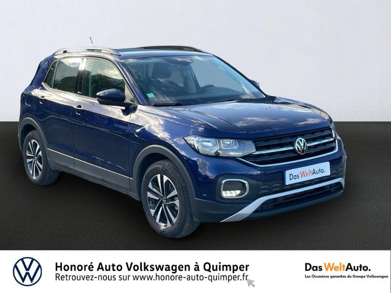 Volkswagen T-Cross 1.0 TSI 110ch United Essence BLEU F Occasion à vendre