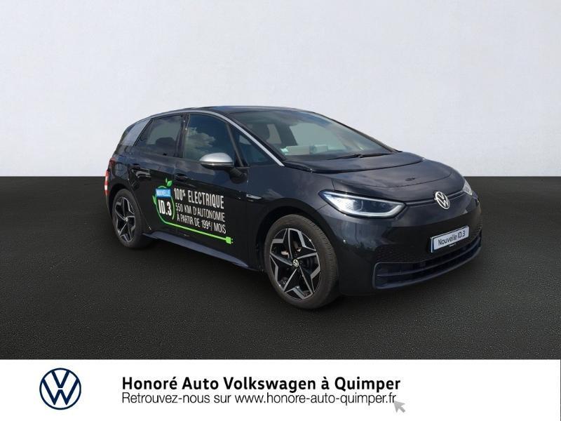 Photo 1 de l'offre de VOLKSWAGEN ID.3 204ch 1st Plus à 32500€ chez Honore Auto - Volkswagen Quimper