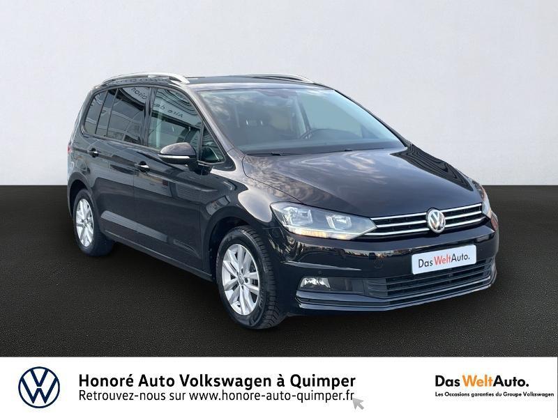 Photo 1 de l'offre de VOLKSWAGEN Touran 1.6 TDI 115ch BlueMotion Technology FAP Confortline Business DSG7 5 places à 17990€ chez Honore Auto - Volkswagen Quimper