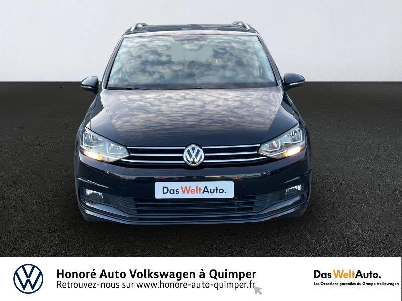 Photo 3 de l'offre de VOLKSWAGEN Touran 1.6 TDI 115ch BlueMotion Technology FAP Confortline Business DSG7 5 places à 17990€ chez Honore Auto - Volkswagen Quimper