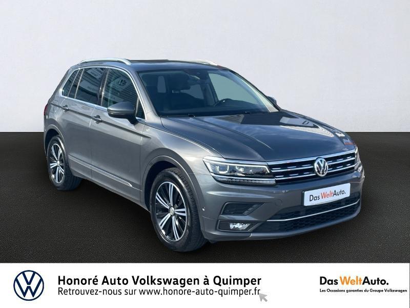 Photo 1 de l'offre de VOLKSWAGEN Tiguan 2.0 TDI 150ch Carat Exclusive DSG7 Euro6d-T à 31990€ chez Honore Auto - Volkswagen Quimper