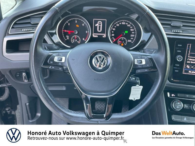 Photo 11 de l'offre de VOLKSWAGEN Touran 1.6 TDI 115ch BlueMotion Technology FAP Confortline Business DSG7 5 places à 17990€ chez Honore Auto - Volkswagen Quimper