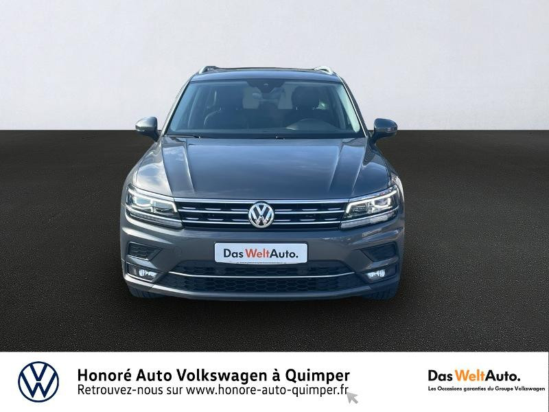 Photo 3 de l'offre de VOLKSWAGEN Tiguan 2.0 TDI 150ch Carat Exclusive DSG7 Euro6d-T à 31990€ chez Honore Auto - Volkswagen Quimper
