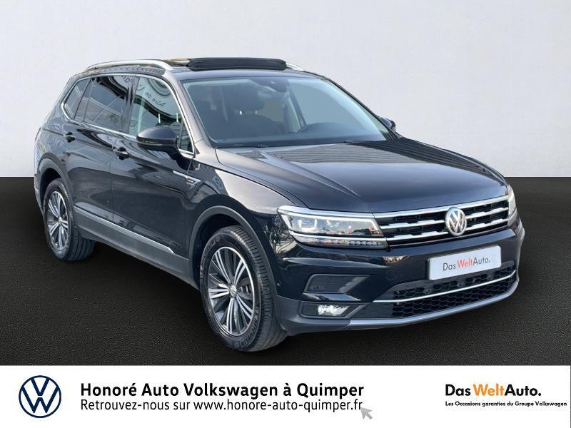 Volkswagen Tiguan Allspace 2.0 TDI 150ch Carat 4Motion DSG7 Euro6d-T Diesel NOIR Occasion à vendre