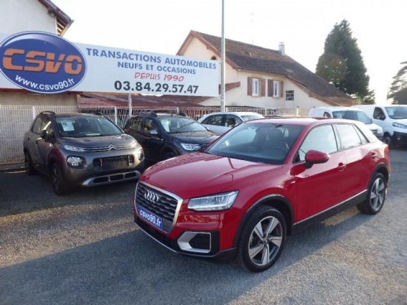 Audi Q2 1.6 TDI 116CH S LINE Diesel ROUGE TANGO Occasion à vendre