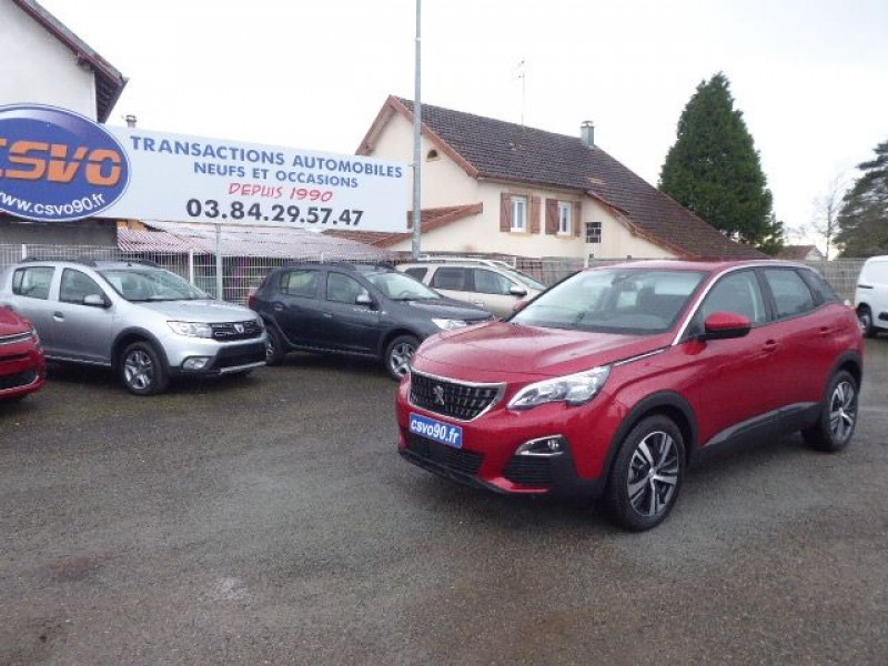Peugeot 3008 1.5 BLUEHDI 130CH E6.C  BUSINESS PACK S&S EAT8 Diesel ROUGE ULTIMATE Occasion à vendre