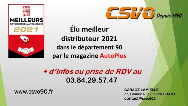 Photo 2 de l'offre de MINI MINI COOPER 136CH CHILI BVA7 109G à 25460€ chez CSVO