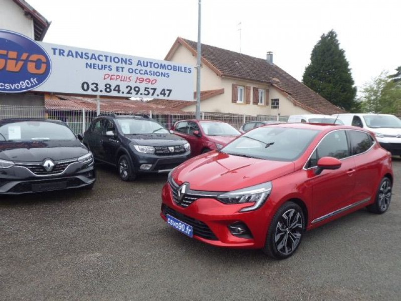 Renault CLIO V 1.0 TCE 90CH INTENS -21 Essence ROUGE FLAMME Neuf à vendre